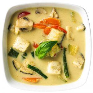 Kaeng Khiao Wan - Pak / Gai / Nam / Talay - verdure