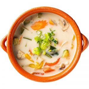 Tom Kha-Pak/Gai/Talay-verdure